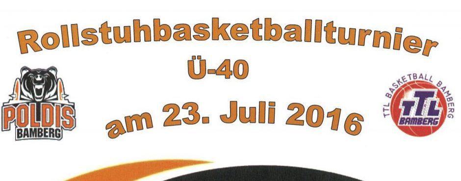 Ü40 – Rollstuhlbasketballturnier