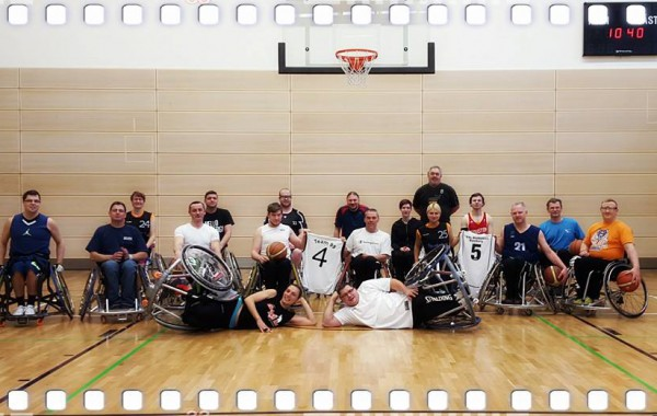 Trainingslager mit dem Partnerverein der 99ers aus Aschaffenburg